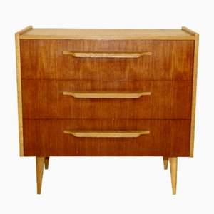 Scandinavian Teak and Oak Dresser, 1960s
