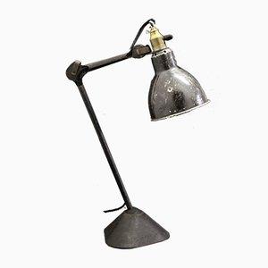 Lampe de Bureau Modèle 205 par Bernard-Albin Gras pour Ravel Clamart, France, 1930s