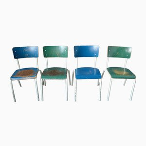 Industrielle Esszimmerstühle, 1970er, 20er Set