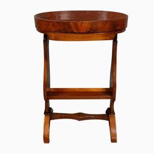 Restoration Period Mahogany Pedestal Table, 1820s