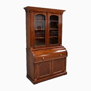 Victorian Mahogany Cupboard or Showcase