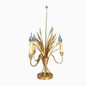 Golden Brass Table Lamp