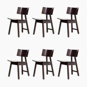 Barcelona Dining Chairs by Niall O'Flyn for Concepta, 1980s, Set of 6