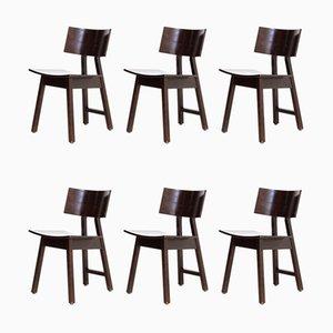 Barcelona Esszimmerstühle von Niall O'Flyn für Concepta, 1980er, 6er Set