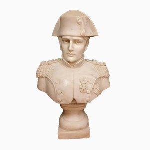 Napoleon Bust in Carrara Marble