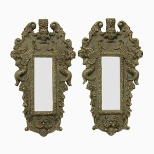 Small Venetian Mirrors, Set of 2