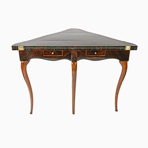 Rosewood Corner Game Table