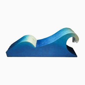 Kanagawa Great Wave Lounge Chair, 1970s