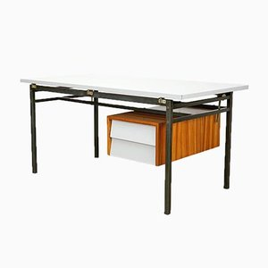Desk with Zebrano and Formic, 1960s