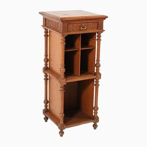 Late 19th Century French Oak Henri II Cabinet