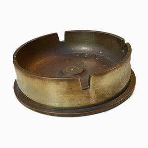 M14 WW2 Cannon Shell Ashtray in Brass and Bronze, 1960s