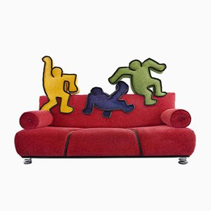 Pop Art Sofa Bretz by Keith Haring