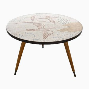 Round Mosaic Coffee Table by by Berthold Müller-Oerlinghausen, 1950s