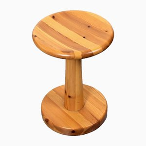Pine Stool by Rainer Daumiller for Hirtshals, 1960s