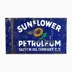 Double Sided Enamel Advertising Sign, 1940s