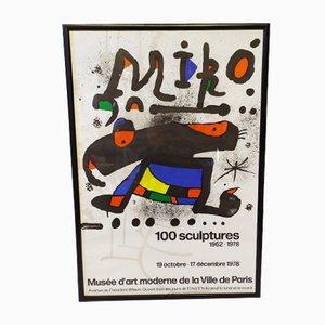 Joan Miro, Litograph, 1978
