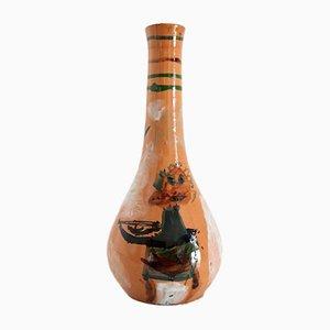 Italian Ceramic Vase by Art Rumi Orobico, 1950s