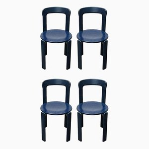 Vintage 2100 Stacking Chairs by Bruno Rey for Kusch+Co, Set of 4