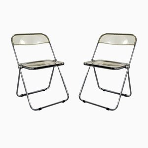 Folding Chairs by Giancarlo Piretti for Castelli / Anonima Castelli, 1960s, Set of 2