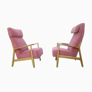 Danish Design Armchairs, 1950s, Set of 2