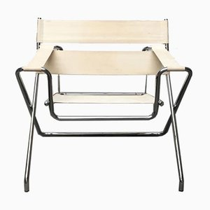 Vintage German D4 Folding Chair by Marcel Breuer for Tecta