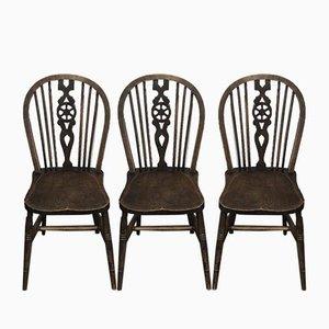 Chaises d'Appoint Windsor par Lucian Ercolani pour Ercol, 1930s, Set de 3