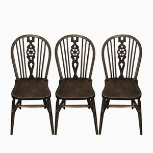 Windsor Side Chairs by Lucian Ercolani for Ercol, 1930s, Set of 3