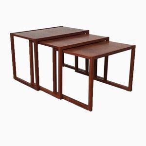Danish Mid-Century Teak Nesting Tables, Set of 3