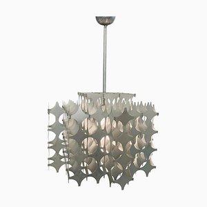 Cynthia Aluminum Pendant Lamp by Mario Marenco for Artemide, Italy, 1960s