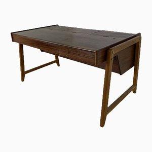 Scandinavian Teak Desk by Clausen & Maerus for Eden Rotterdam, 1960s
