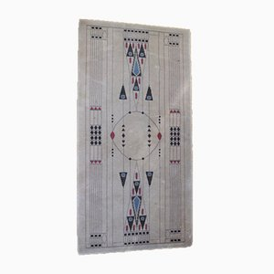Antique Carpet by Otto Prutscher for Backhausen