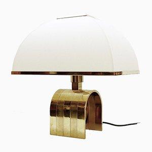 Messing Tischlampe von Romeo Rega, Italien, 1960er