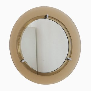 Italian Wall Mirror from Veca, 1970s