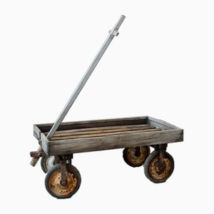 Children's Industrial Trolley