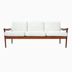 Danish Teak Sofa by Niels Eilersen, 1960s