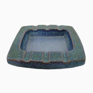 Ceramic 7034 Ashtray by Friedgard Glatzle for Karlsruher Majolika, 1960s
