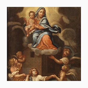 Miracle of Loreto, 17th Century, Italy, Oil on Canvas