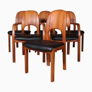 Dining Chairs in Teak from Holstebro Möbelfabrik, Set of 6