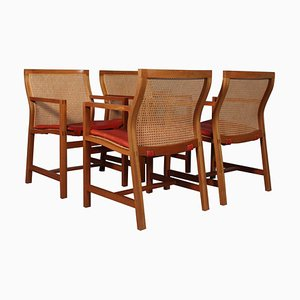 Armchairs by Rud Thygesen & Johnny Sørensen, Set of 4