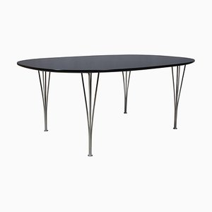 Ellipse Dining Table by Piet Hein & Bruno Mathsson