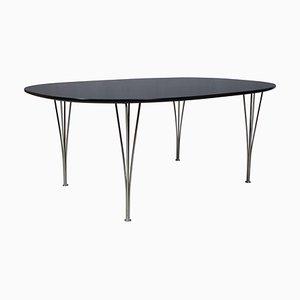 Table de Salle à Manger Ellipse par Piet Hein & Bruno Mathsson
