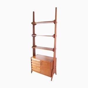 Mid Century Italian Bookcase in Teak