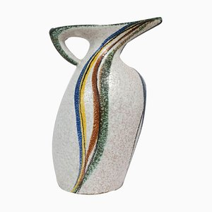 Ceramic West German Ruscha Pitcher from Milano Collection, 1950s