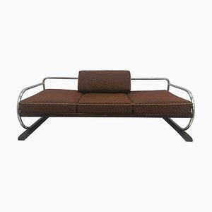 Bauhaus Chrome Sofa by Robert Slezak, 1937