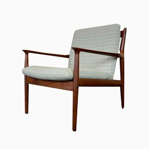 Teak Armchair by Grete Jalk for Glostrup, 1960s