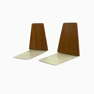 Danish Modern Teak Bookends by Kai Kristiansen, 1960s, Set of 2