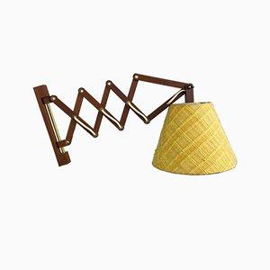 Teak Wall Lamp, 1970s