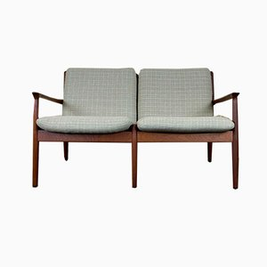 Teak Sofa Bed by Grete Jalk for Glostrup, 1960s