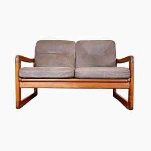 Teak Sofa Bed from EMC, 1970s