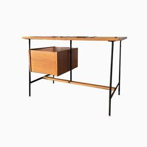Office Desk with Oak Veneer, 1950s